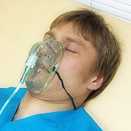 Оксигенотерапия с помощью масок