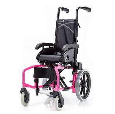 Купить Детская складная кресло-коляска с высокой спинкой LY-710-BS