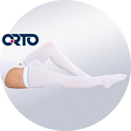 Чулок на ногу с открытым носком 602 ORTO *
