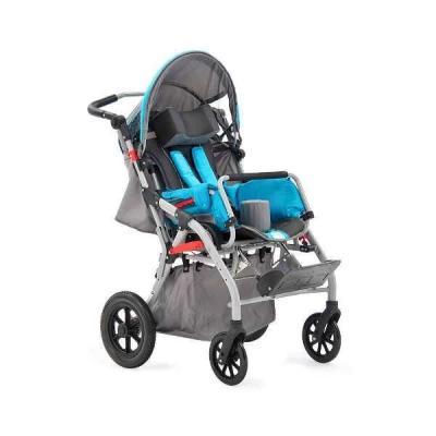 Купить Инвалидная детская кресло-коляска Baby comfort blue H6